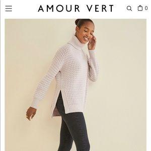 Amour Vert Aylin Turtleneck Sweater